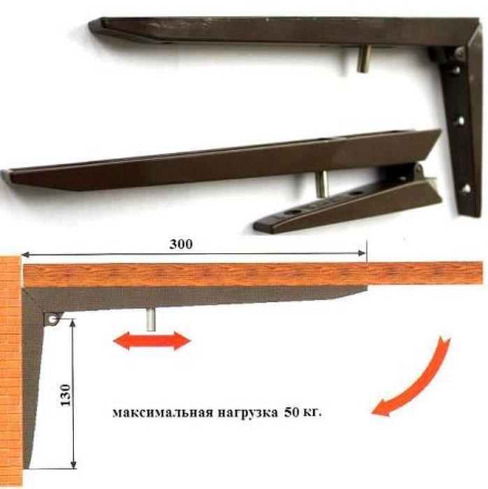 Механизм откидного стола своими руками 186