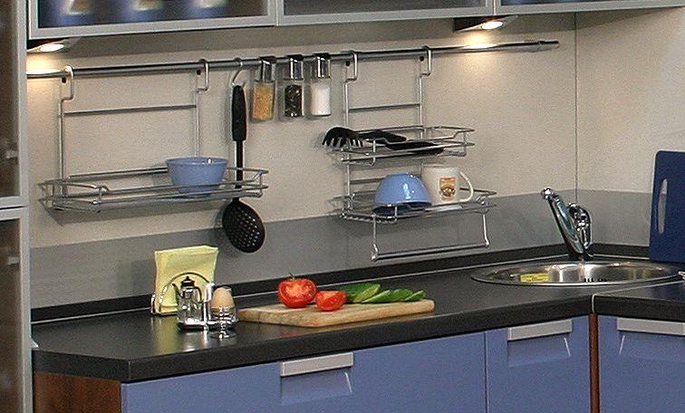 Пример использования рейлингов для кухни