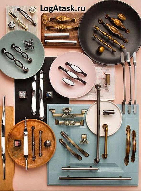 Картиника мебельных ручек - закажите в интернет магазине LOGATASK.
