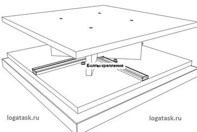Сборка этажа при помощи мебельной фурнитуры для кухни