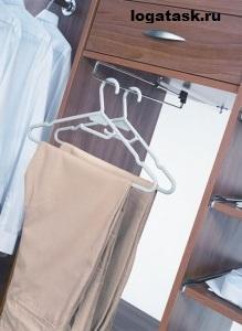 Выдвижные аксессуары для гардероба, наполнение шкафов купе